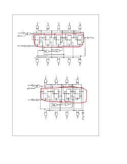 Logiczny schemat który wybiera diody led.