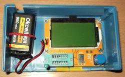 Tester tranzystorów kondensatorów