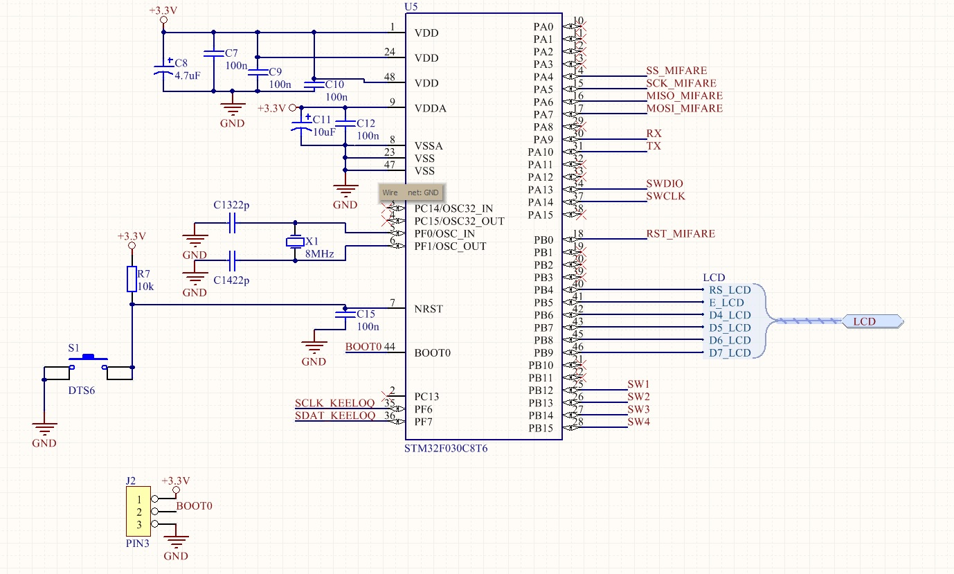 STM32F030 i F4 discovery - SWD i problem z programowaniem stm32.