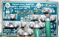 3 anteny ze wzmacniaczami na jednym maszcie - zasilanie wzmacniaczy