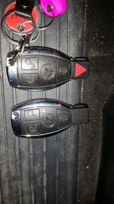 Kodowanie kluczyka Mercedes ML-163