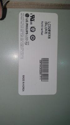 [Sprzedam] Matryca LC320WX6 z telewizora LG 32LC52