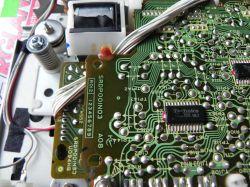 Odtwarzacz Technics SL-P1 - dziwnie buczy i nie kręci płytą