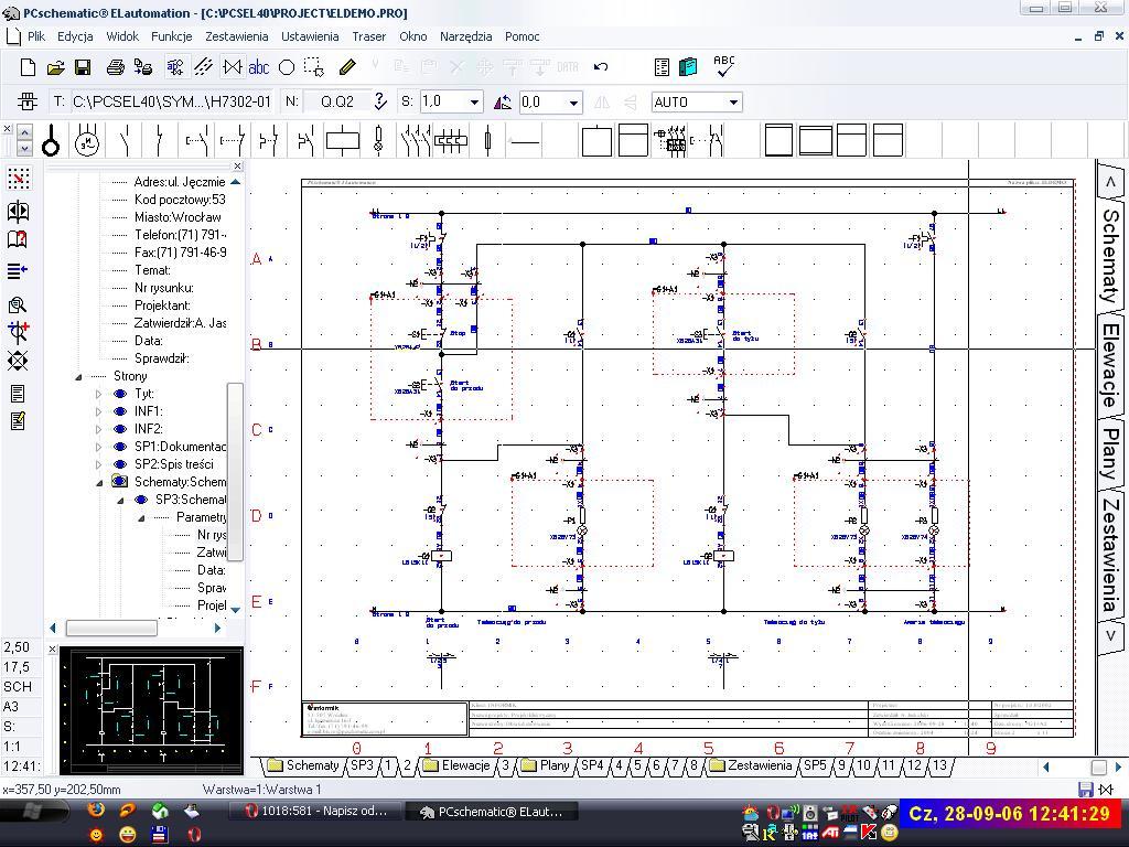 Program do instalacji elektrycznej