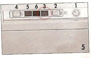 Zamrażarka Amica ZA130 - wymienić żaróweczkę kontrolki włącz/wyłącz w tym modelu