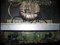 Wzmacniacz estradowy 2x500 w rms w 8 ohm na 4xantares250