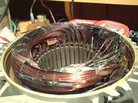 Agregat prądotwórczy - spalony