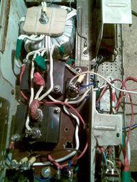 własny prostownik problem z regulacja prądu