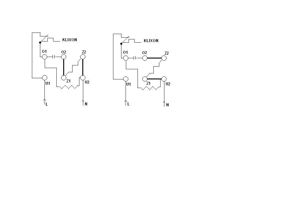 silnik jednofazowy identyfikacja uzwojeń