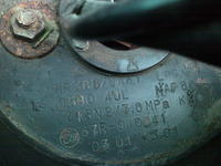 Butla gazowa LPG, brak homologacji