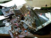 Elektronika 409D brak synchronizacji, problemy z odchylaniem