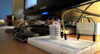 Rejestrator wilgoci i temperatury