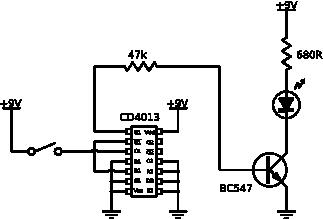 Sterowanie przekaźnika switchem ON/OFF