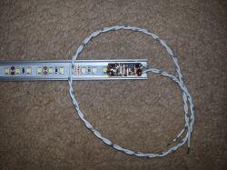 Przycisk bistabilny + oświetlenie szafkowe LED