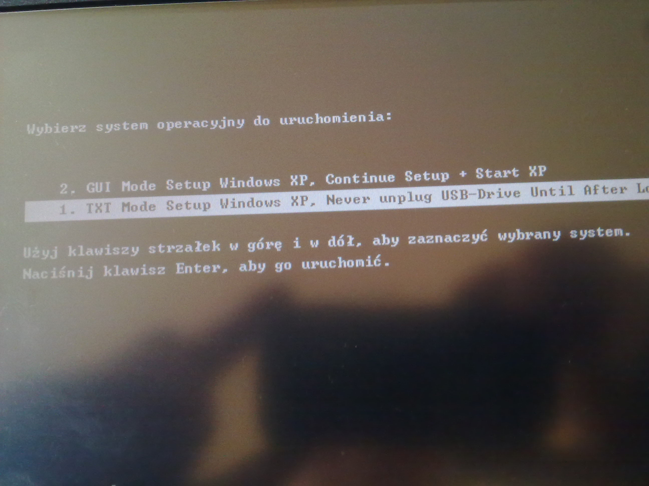 Tablet WebDT366 instalacja systemu si� zawiesza...