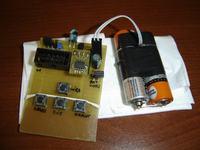 Ultra-duży wyświetlacz widmowy 64 LED SMD + Atmega 64 + PILOT