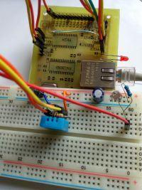 Serwer WWW na PIC24FJ64GA002 i ENC28J60 + czujnik temperatury/wilgotności DHT11
