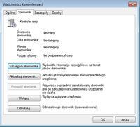 Kontroler sieci nie wykrywa karty sieciowej w laptopie THOSIBA C660-2L0