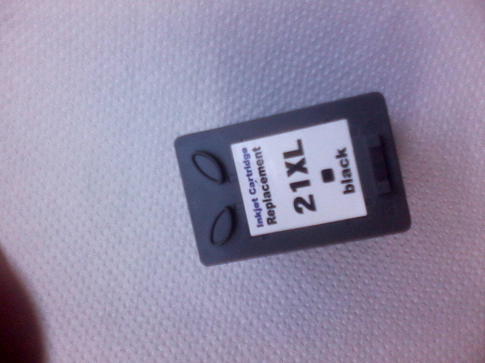 HP 21 XL - Regeneracja - Brak dziury do nape�niania