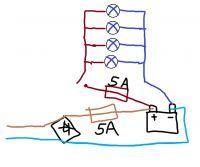 Reflektor ledowy na akumulator