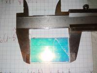 Epron EMP-700 - Zbite lusterko dichroiczne.