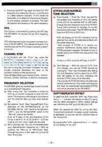 Alinco DR-599E i dodanie CTCSS