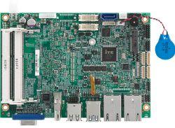 EBC 357X - jednopłytkowy komputer z Atom i 3 wyjściami obrazu