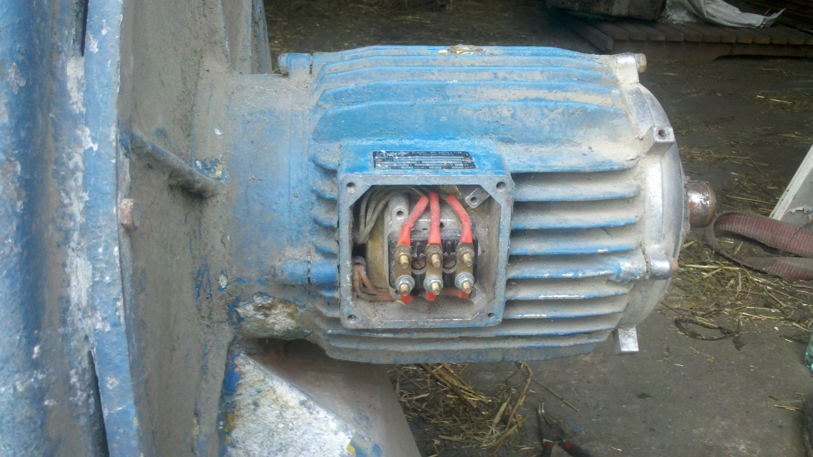 Silnik 3KW, 380/660V, 2800obr/min -spalony