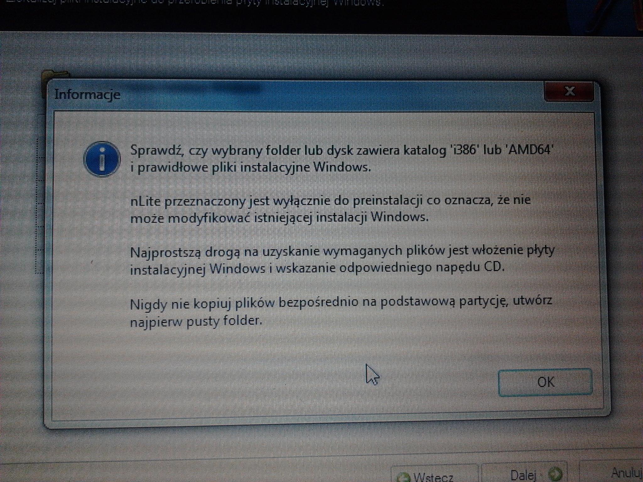 Problem instalacja windows xp dell gx280 stop:0x0000007B