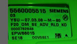 Pralka Siemens WM14S7B0EU/10 - Blokowanie programow na odpompowaniu wody
