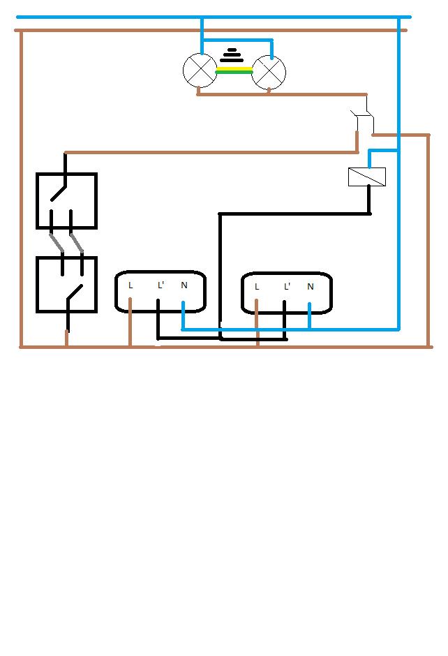 Schemat 2 Czujniki Ruchu Schodowy Elektrodapl