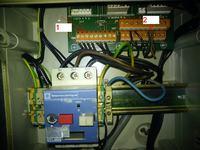 CRAWFORD bram kasetowa Podłączenie sterownika
