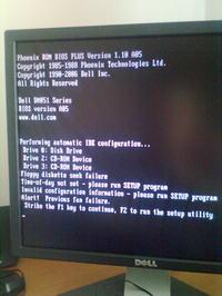 trudno�ci z uruchomieniem komputera dell Dimension 5150