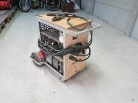 Budowa spawarki MMA/MIG w oparciu o transformator