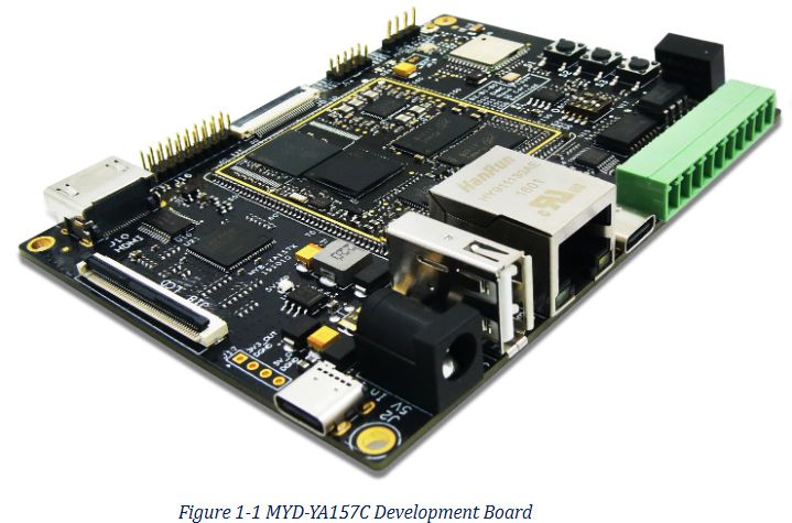 OSD32MP1-RED - płytka prototypowa z STM32MP1