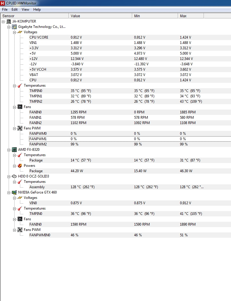 Dziwne dzia�anie kursora - problem z AMD Vishera 8320 ?