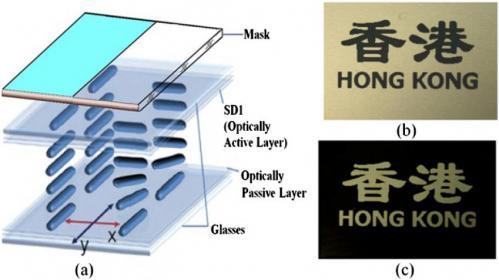 Wy�wietlacze 3D LCD zachowuj�ce obraz bez pobierania pr�du.