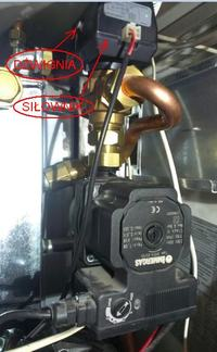 Immergas Herkules Condensing 26 2 E - pompa obiegowa immergas do naprawy