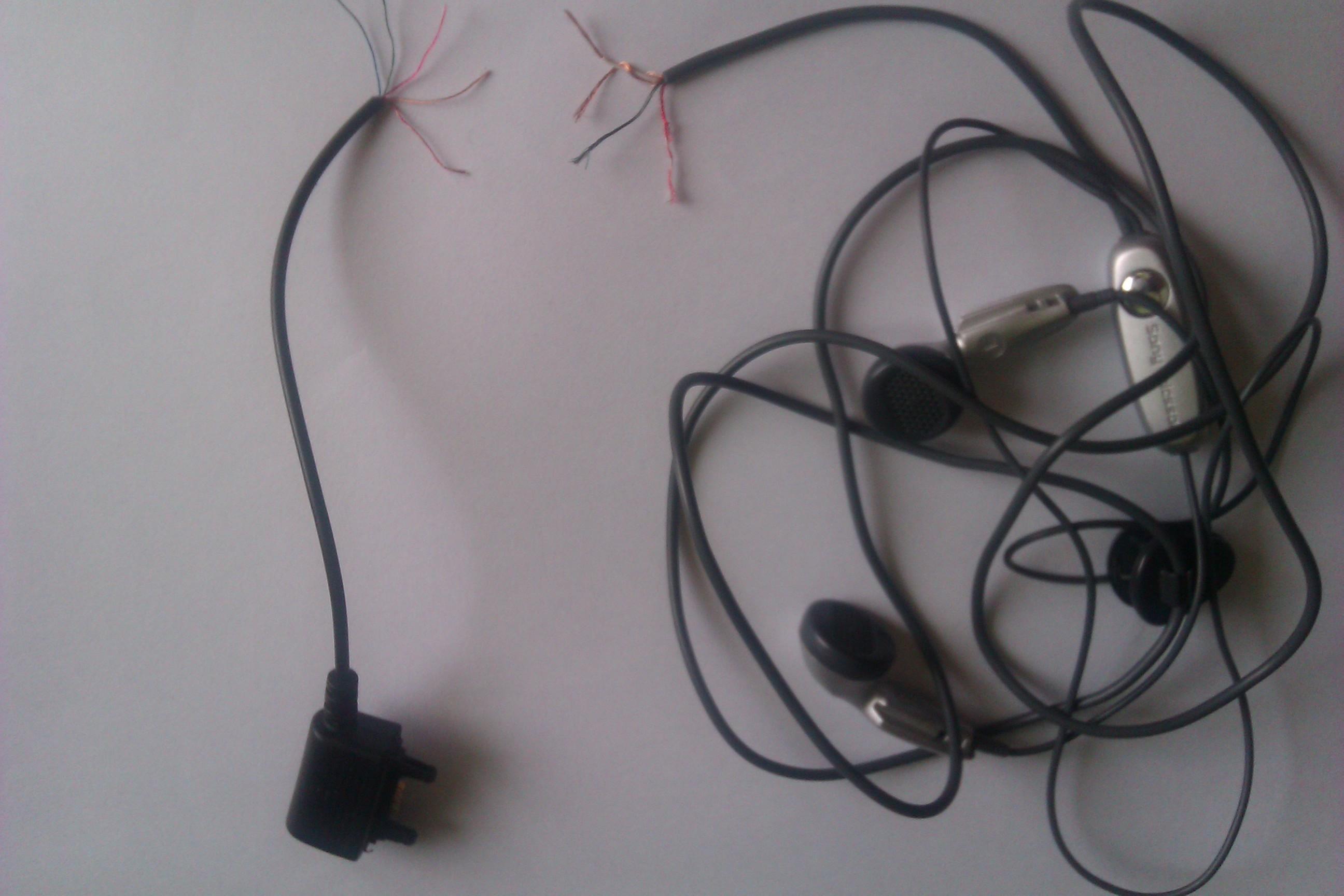Sony Ericsson k750 - Przerobienie s�uchawek Sony Ericsson