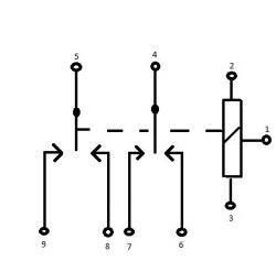 Przekaźnik konfiguracja styków DP3T - poszukuję