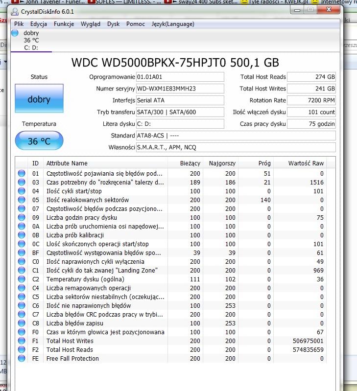 Dell Precision M6500 - Zawieszenie systemu(objawia na og� czarnym ekranem)