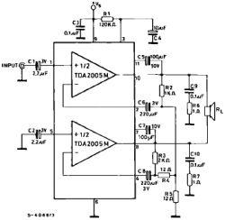 Poszukuje schematu wzmacniacza audio 25w 12v