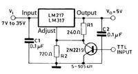 Zasilacz (0-24V) na LM317 z ograniczeniem prądu-prośba o sprawdzenie schematu