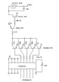 Sterowanie silnikiem elektrycznym prądu stałego w mikserze