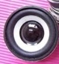 Wciśnięta kopułka w 5cm głośniku
