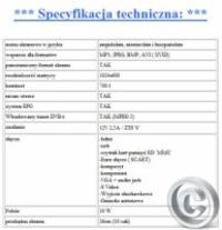 TELEWIZOR LCD 23cmjaki dekoder zastosowa�  mpeg4 do telewizora LCD samochodowego
