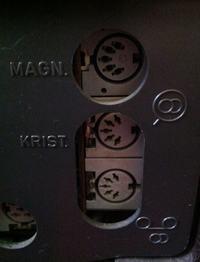 Blaupunkt STG 2091 - wejście i wyjście audio