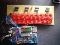 Wyświetlacz LED - Mega32