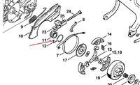 Stihl MS 170 - jak odkręcić sprzęgło