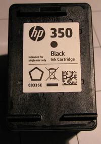 HP C5280 - Drukuje z paskami nawet na nowym tuszu